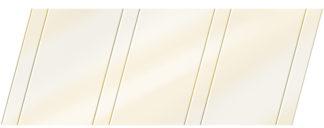 Глянцевый реечный потолок 100 P и 25 P, цвет: панель - 040 2