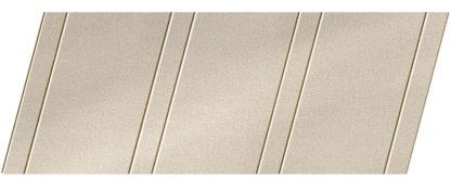 """Реечный потолок """"под металлик"""" 100 P и 25 P, цвет: панель - 252"""