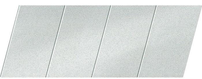 """Реечный потолок """"под металлик"""" 100 P, цвет: панель - 133"""