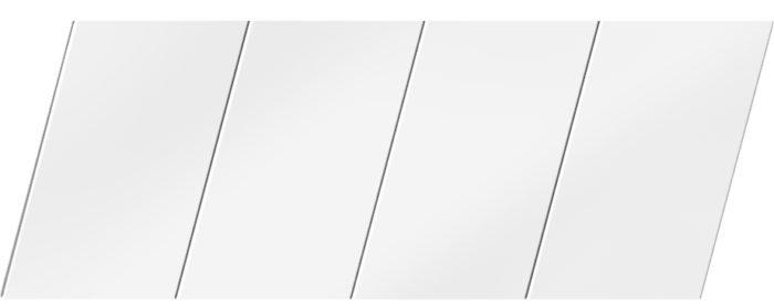 Матовый реечный потолок 100 P, цвет: панель - 140