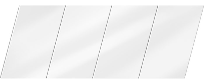 Глянцевый реечный потолок 100 P, цвет: панель - 141