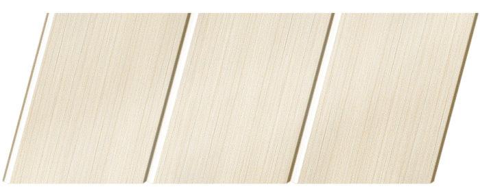 Реечный потолок с фактурой светлое дерево (бук беленый) 150 C, цвет: панель - 200