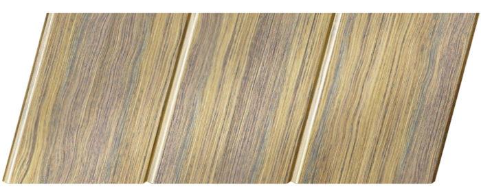 Реечный потолок с фактурой темное дерево (дуб антик) 150 C, цвет: панель - 204