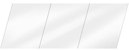 Глянцевый реечный потолок 150 P, цвет: панель - 141