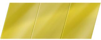 Зеркальный реечный потолок 150 P, цвет: панель - 151 1