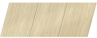 Реечный потолок с фактурой светлое дерево (бамбук) 150 P, цвет: панель - 202