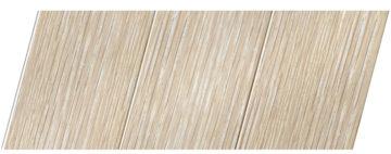 Реечный потолок с фактурой светлое дерево (дуб беленый) 150 P, цвет: панель - 203
