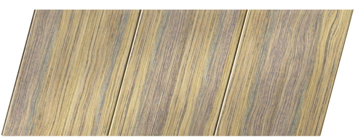 Реечный потолок с фактурой темное дерево (дуб антик) 150 P, цвет: панель - 204