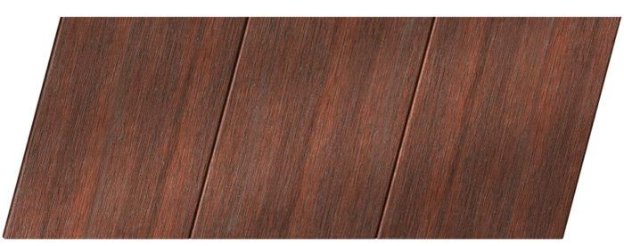 Реечный потолок с фактурой темное дерево (махагон) 150 P, цвет: панель - 209