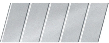 """Реечный потолок """"под металлик"""" 75 C, цвет: панель - 130"""