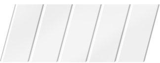 Матовый реечный потолок 75 C, цвет: панель - 140