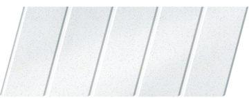 """Реечный потолок """"под металлик"""" 75 C, цвет: панель - 143"""