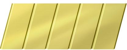 Зеркальный реечный потолок 75 C, цвет: панель - 151