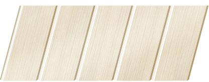 Реечный потолок с фактурой светлое дерево (бук беленый) 75 C, цвет: панель - 200