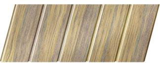 Реечный потолок с фактурой темное дерево (дуб антик) 75 C, цвет: панель - 204
