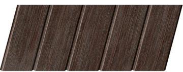 Реечный потолок с фактурой темное дерево (венге) 75 C, цвет: панель - 207