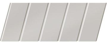 Матовый реечный потолок 75 C, цвет: панель - 233