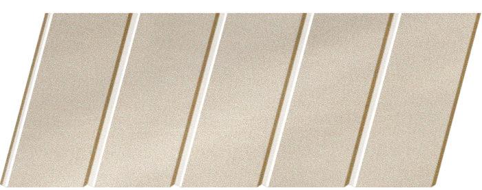 """Реечный потолок """"под металлик"""" 75 C, цвет: панель - 252 1"""