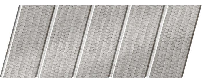 Реечный потолок с фактурой кожи 75 C, цвет: панель - 500