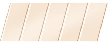 Матовый реечный потолок 75 C, цвет: панель - 710