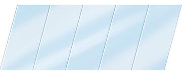 Глянцевый реечный потолок 75 P, цвет: панель - 015 1