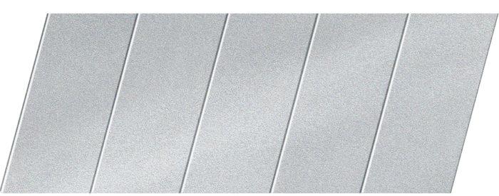 """Реечный потолок """"под металлик"""" 75 P, цвет: панель - 130"""
