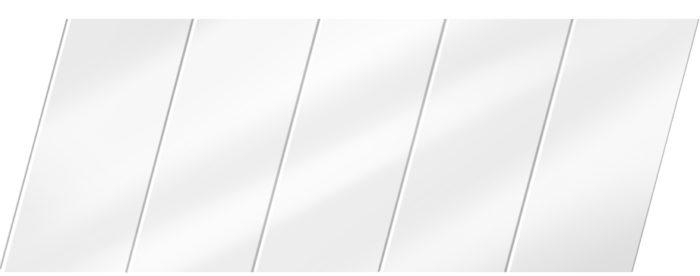 Глянцевый реечный потолок 75 P, цвет: панель - 141