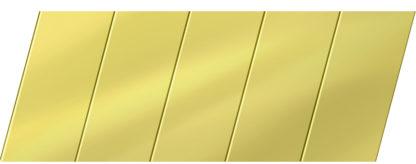 Зеркальный реечный потолок 75 P, цвет: панель - 151