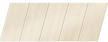 Реечный потолок с фактурой светлое дерево (бук беленый) 75 P, цвет: панель - 200