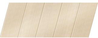 Реечный потолок с фактурой светлое дерево (бук песочный) 75 P, цвет: панель - 201
