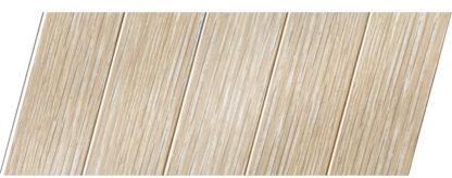 Реечный потолок с фактурой светлое дерево (дуб беленый) 75 P, цвет: панель - 203