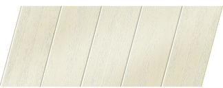 Реечный потолок с фактурой светлое дерево (вуд белый) 75 P, цвет: панель - 211