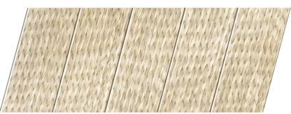 Реечный потолок с фактурой светлое дерево (ротанг) 75 P, цвет: панель - 212