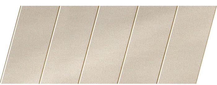 """Реечный потолок """"под металлик"""" 75 P, цвет: панель - 252 1"""