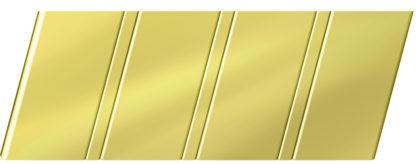 Зеркальный реечный потолок 84 R, цвет: панель - 151