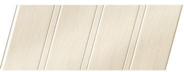 Реечный потолок с фактурой светлое дерево (бук беленый) 84 R, цвет: панель - 200