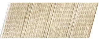 Реечный потолок с фактурой светлое дерево (ротанг) 84 R, цвет: панель - 212