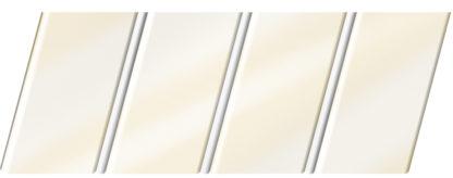Глянцевый реечный потолок 84 R(V), цвет: панель - 040 2, профиль - 140