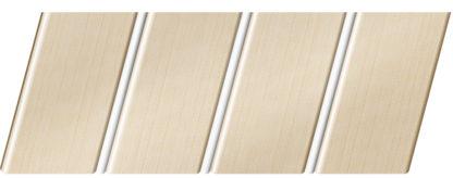 Реечный потолок с фактурой светлое дерево (бук песочный) 84 R(V), цвет: панель - 201, профиль - 140