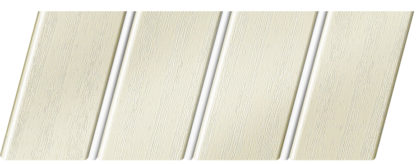 Реечный потолок с фактурой светлое дерево (вуд белый) 84 R(V), цвет: панель - 211, профиль - 140