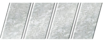 """Реечный потолок """"под мрамор"""" 84 R(V), цвет: панель - 335, профиль - 140"""