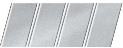 """Реечный потолок """"под металлик"""" 84 R(V), цвет: панель - 130, профиль - 141"""