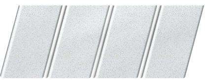 """Реечный потолок """"под металлик"""" 84 R(V), цвет: панель - 143, профиль - 141"""