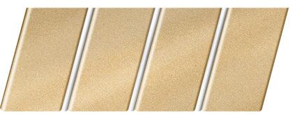 """Реечный потолок """"под металлик"""" 84 R(V), цвет: панель - 153, профиль - 141"""