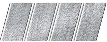 """Реечный потолок """"под металлик"""" 84 R(V), цвет: панель - 501, профиль - 141"""