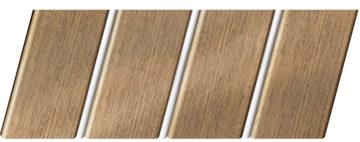 """Реечный потолок """"под металлик"""" 84 R(V), цвет: панель - 551, профиль - 141"""