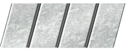 """Реечный потолок """"под мрамор"""" 84 R(V), цвет: панель - 335, профиль - 288"""