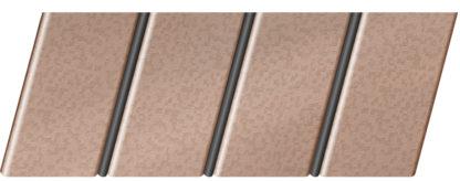 """Реечный потолок """"под металлик"""" 84 R(V), цвет: панель - 562, профиль - 288"""
