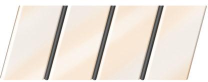 Глянцевый реечный потолок 84 R(V), цвет: панель - 710 2, профиль - 288