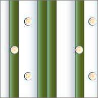 Реечный потолок 75 C и 150 C (закрытый), цвета 561,143, комплект